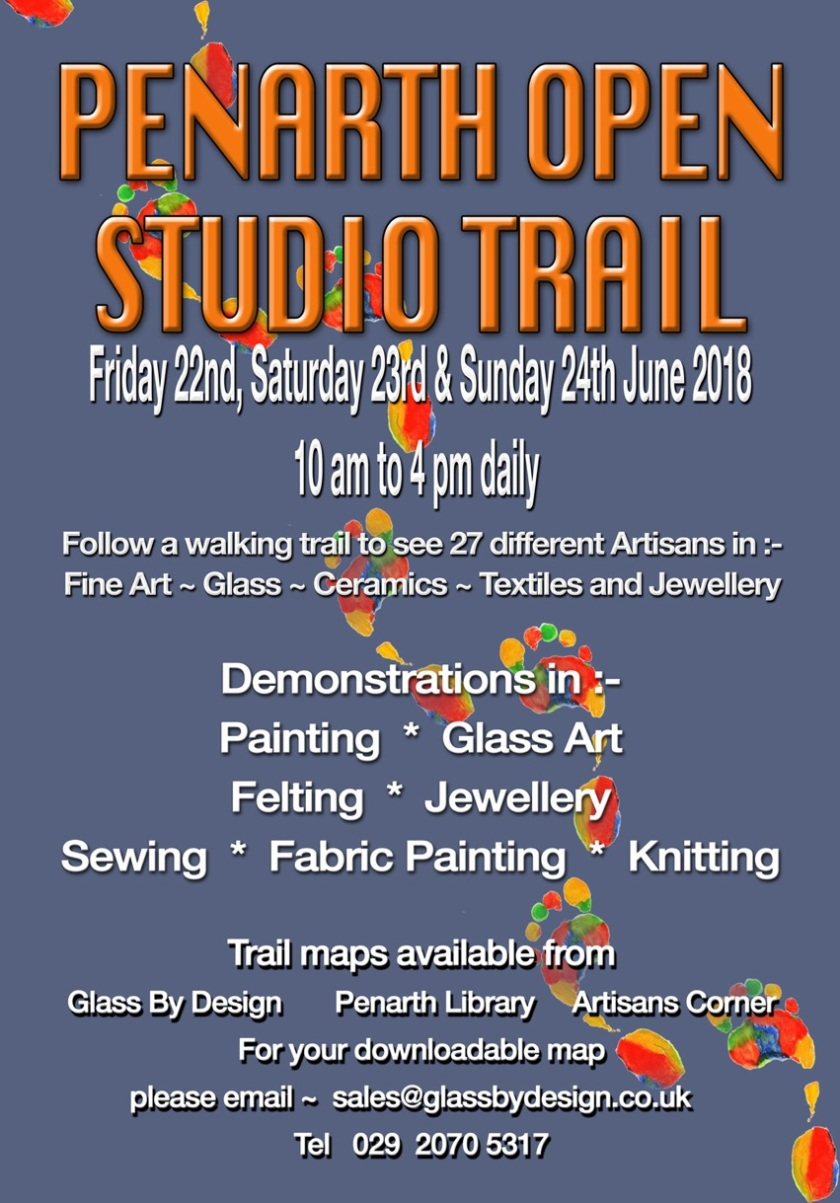 Penarth Open Studio Trail Poster 2018