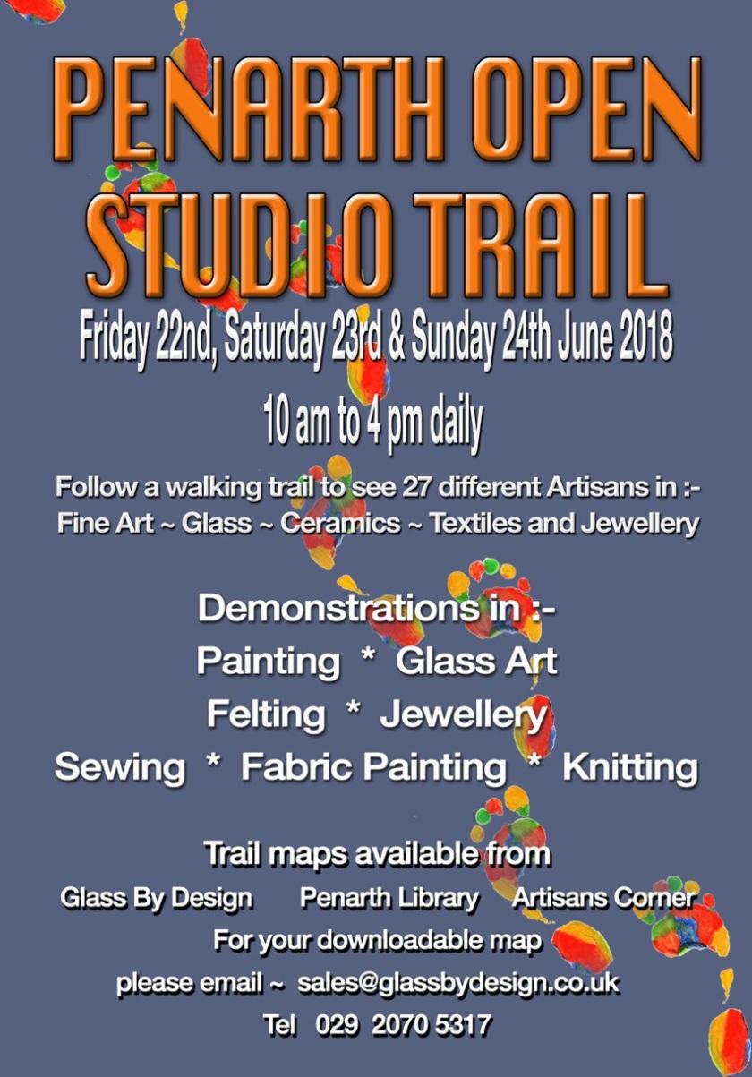 Penarth Open Studio Trail Poster 2018